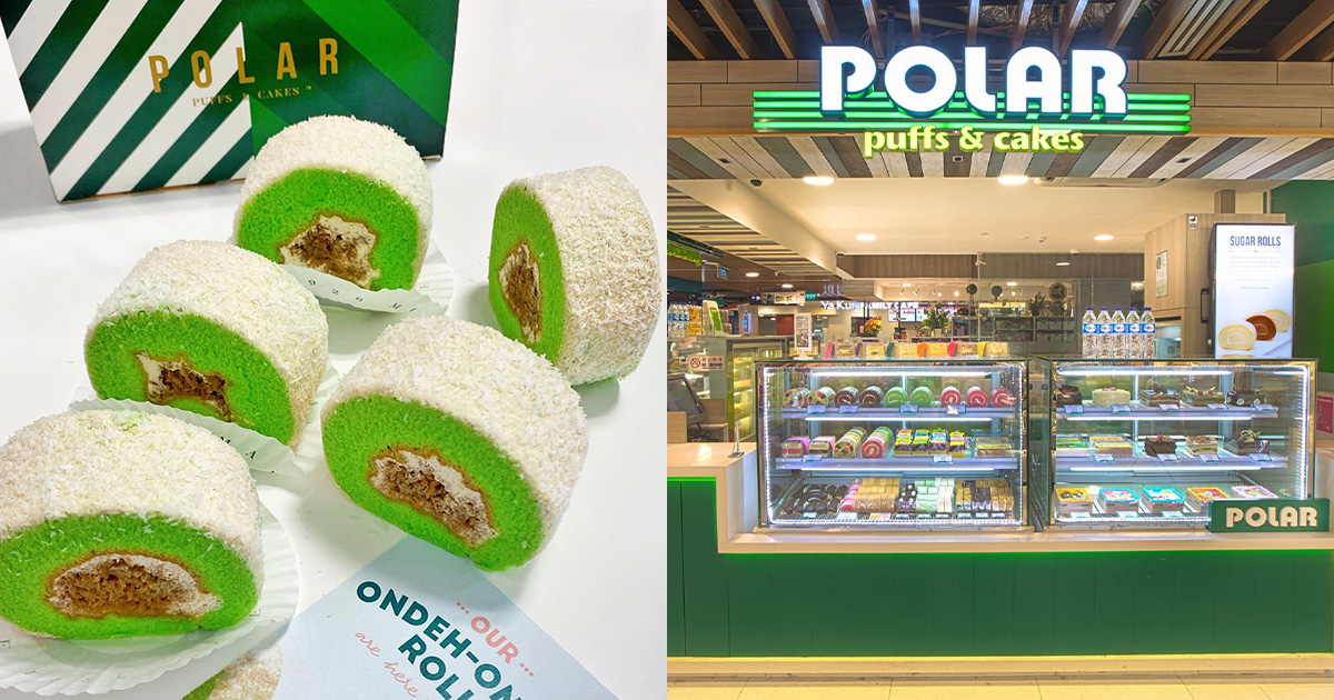 Polar Puffs & Cakes brings back $1.80 Ondeh Ondeh Rolls, has Gula Melaka-infused Grated Coconut filling