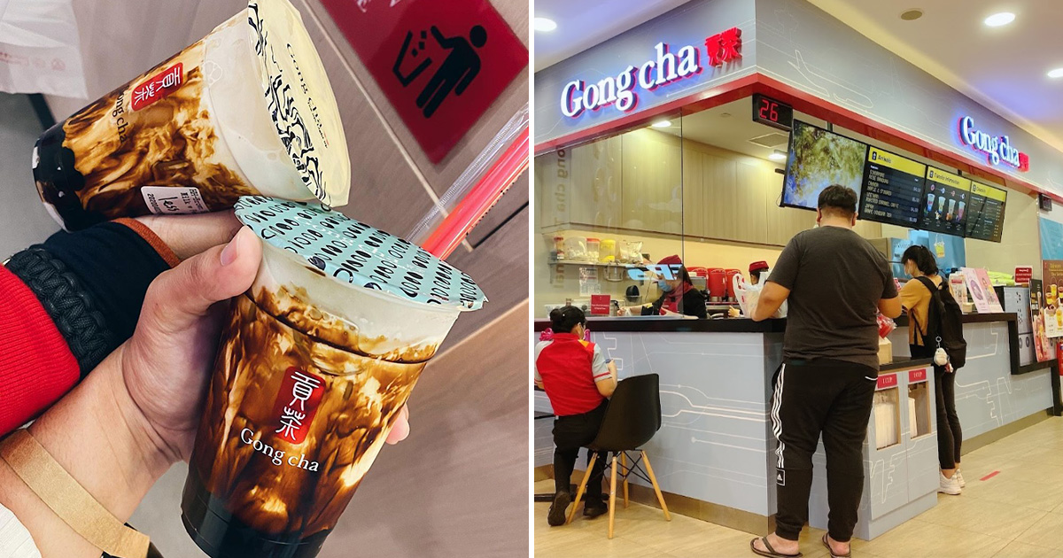 Gong Cha offers 1-FOR-1 Brown Sugar Fresh Milk with Pearls all day from Aug 16 – 18 at most S'pore outlets