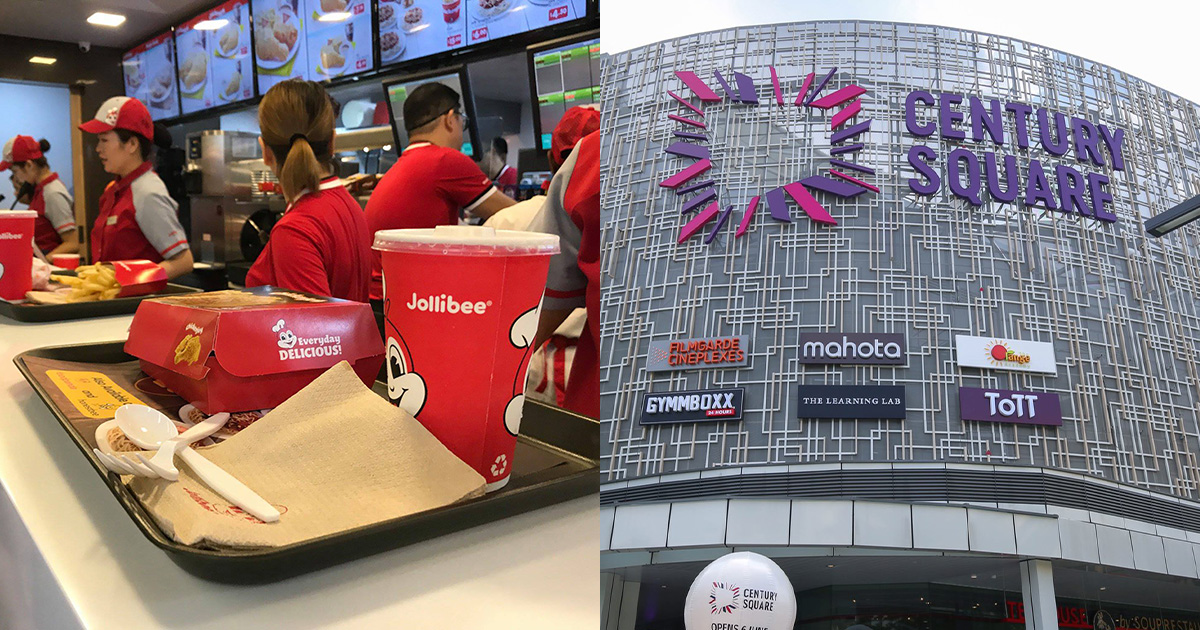 Jollibee S'pore latest outlet to open in Century Square, takes over units formerly occupied by PUMA