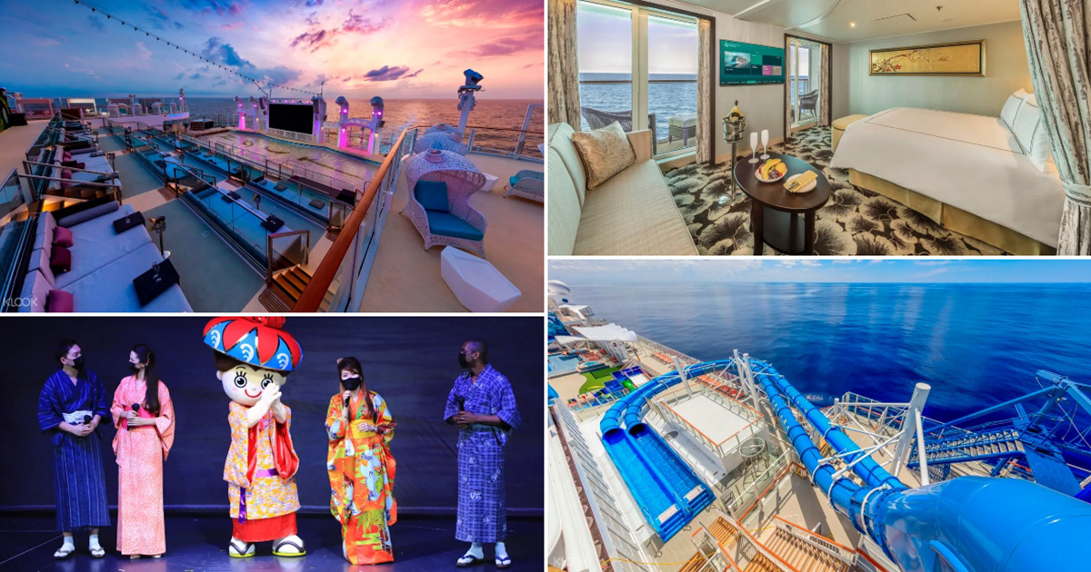 Dream Cruises resume with 50% Capacity, has Balcony Stateroom from S$130 per night for a limited time