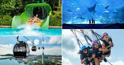 Changi Recommends selling 95 Sentosa Fun Pass Tokens for $42, visit theme parks & attractions from $14 per pax