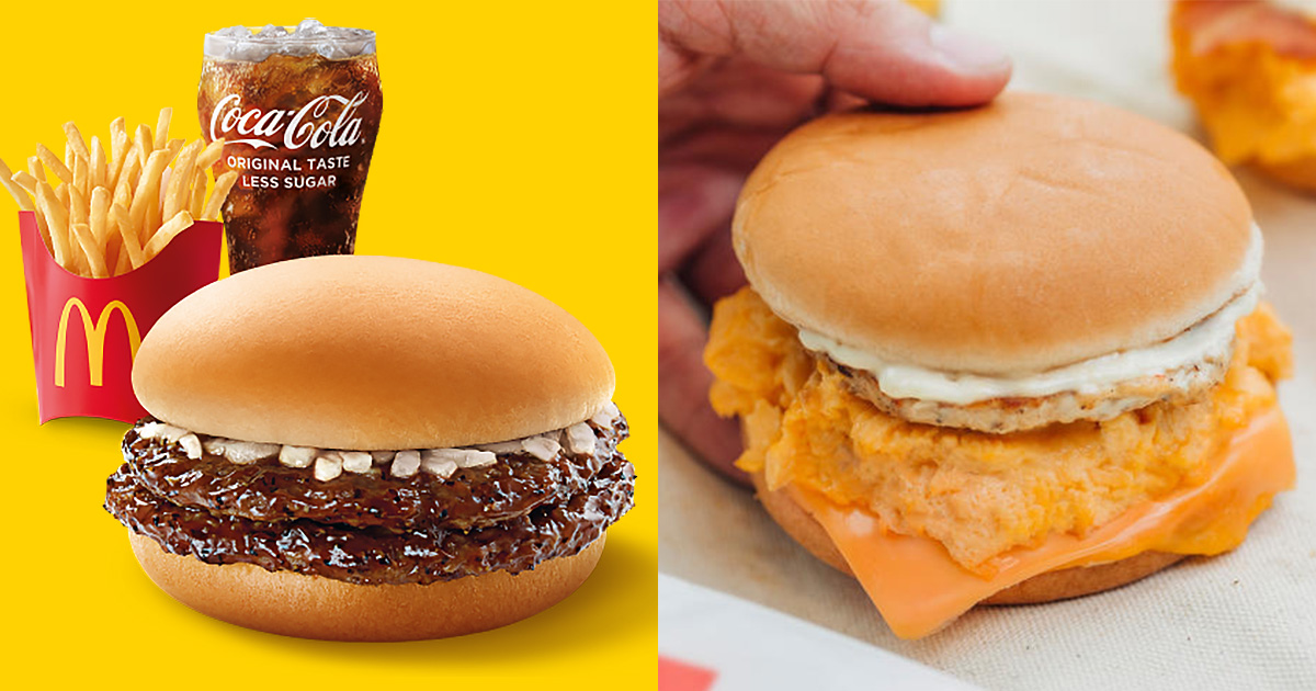 McDonald's launching new McPepper Burger and brings back Scrambled Egg Burgers from Sep 2