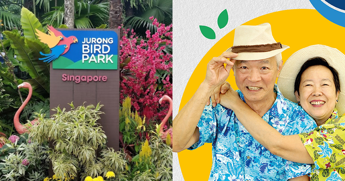 Fully vaccinated Seniors pay only $1 for visits to Jurong Bird Park till Sep 30, Sinovac & more included