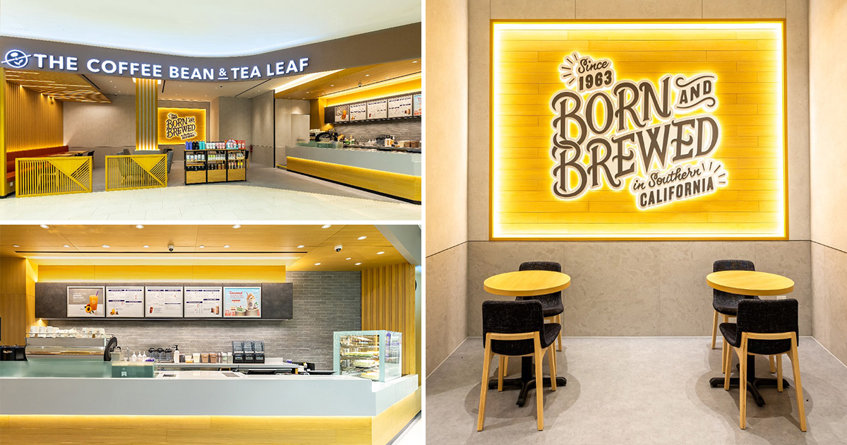 Coffee Bean now open in Sembawang Shopping Centre, operates as early as 7.30am in the morning