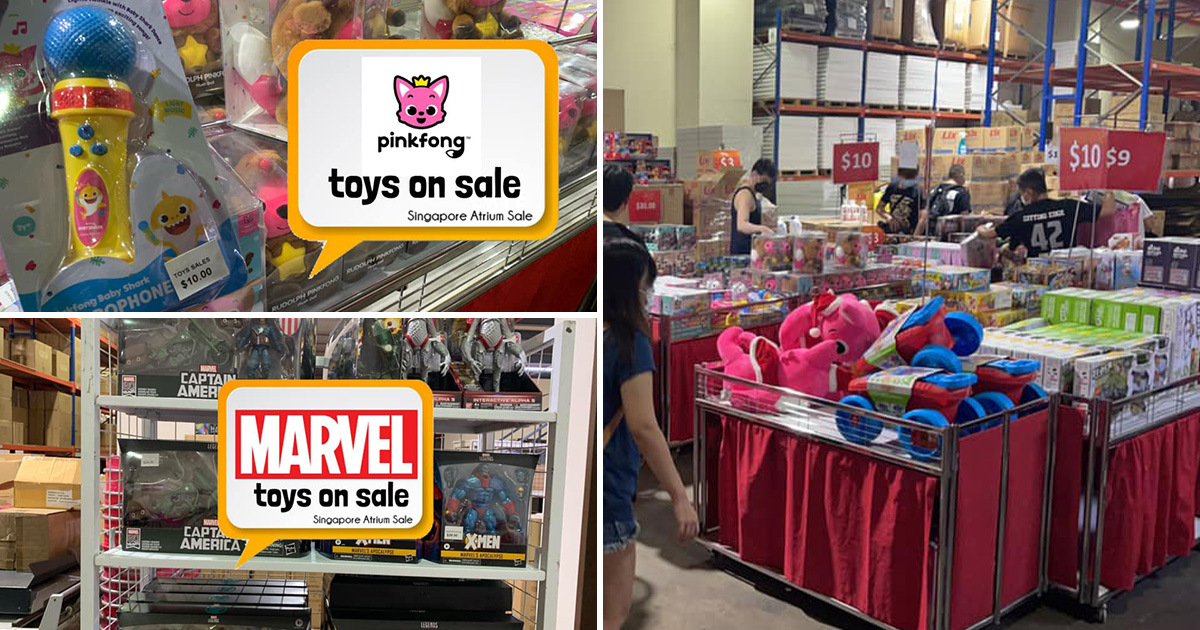 Branded Toys Sale in Jurong till Sep 12 has Marvel, Transformers, Pinkfong & more with prices from $1