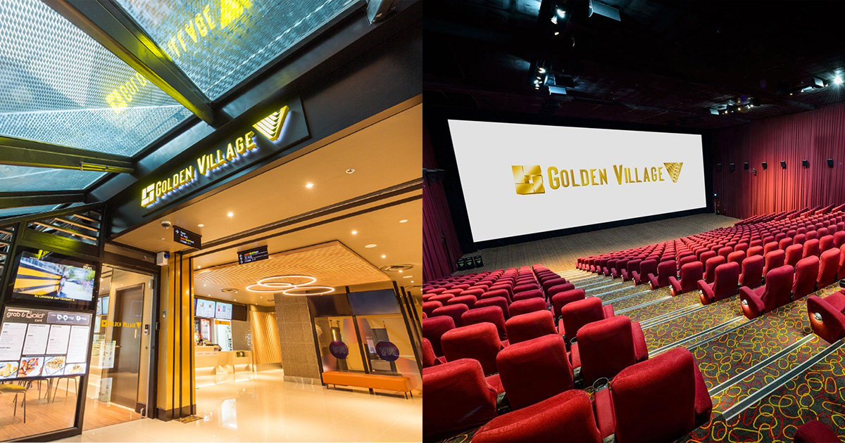 Golden Village to offer 1-FOR-1 Movie Tickets Promotion from Sep 8 – 29 at most cinema outlets in S'pore