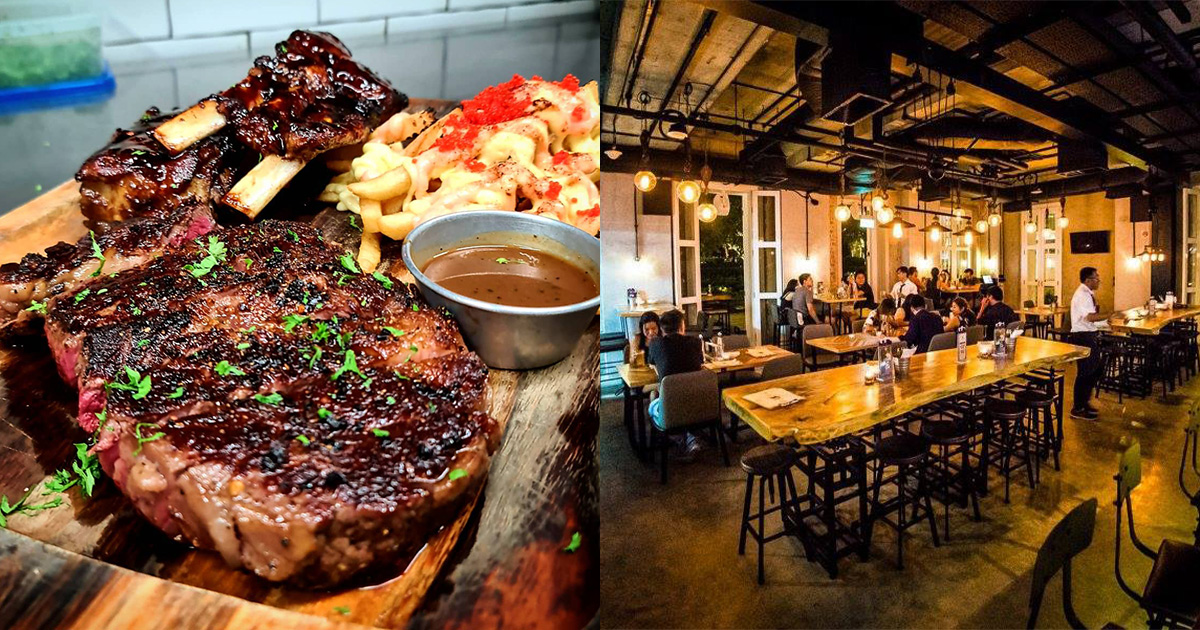 Steakhouse in South Beach offers Unlimited Steak Buffet at $30 nett per pax & 1-FOR-1 Beers till Sep 30