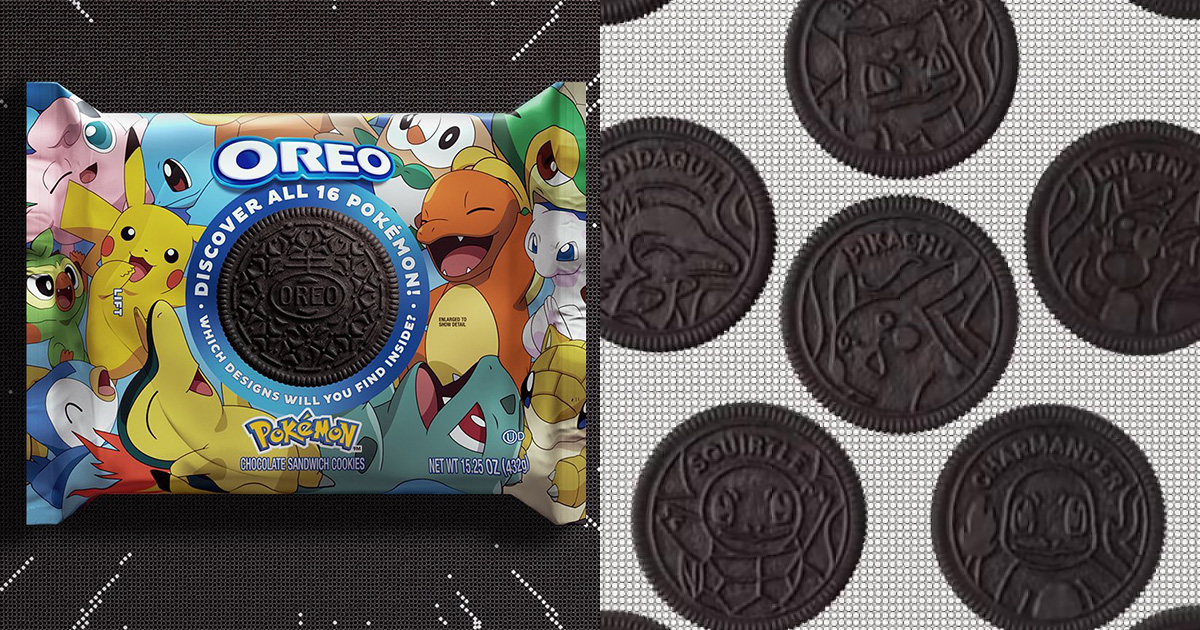 Oreo launches Pokémon-themed Sandwich Cookies we wished S'pore suppliers will bring them in soon