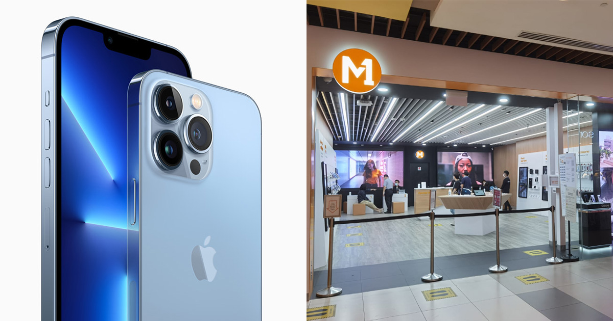 M1 releases iPhone 13 line-up Contract Price Plans with monthly subscription from $50