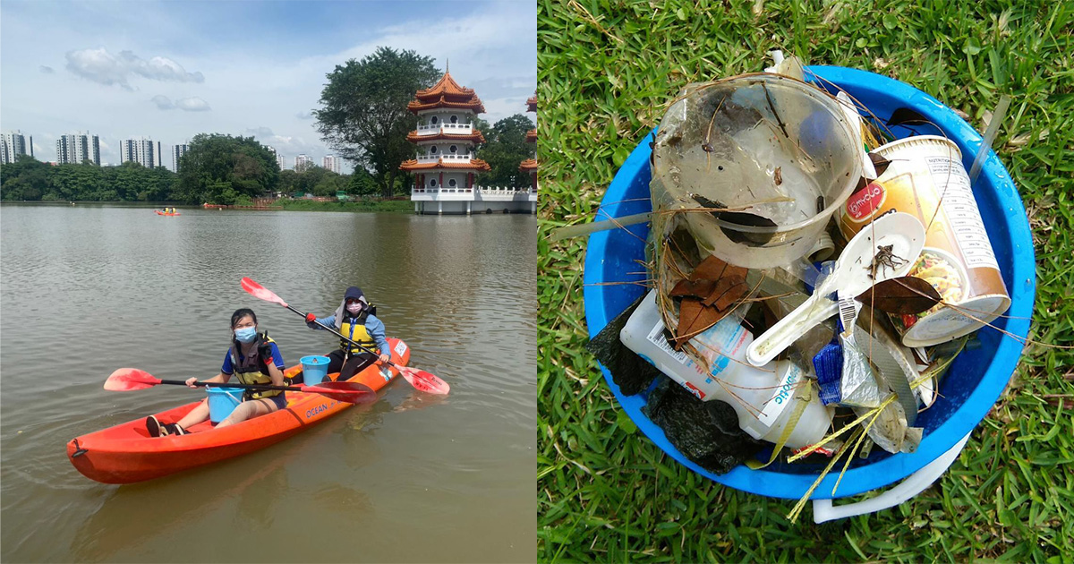Enjoy 2-hour Kayaking for FREE at 6 locations till Sep 30 when you volunteer to clean up the waters