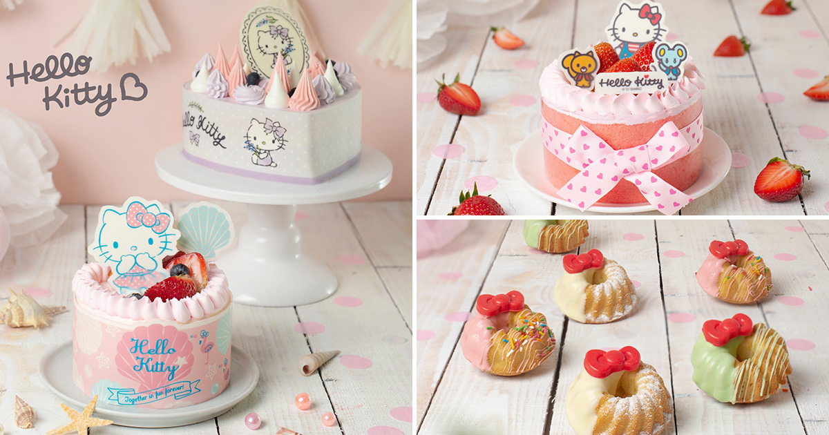 Polar Puffs & Cakes launches Hello Kitty Cakes and Muffnuts from $28.90 at all S'pore outlets