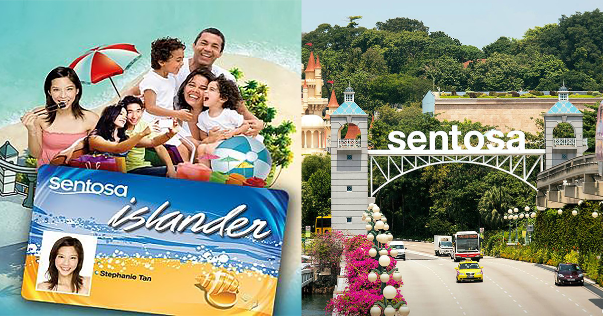 Sentosa Islander Membership is now FREE, reportedly used to cost S$128 to sign up previously