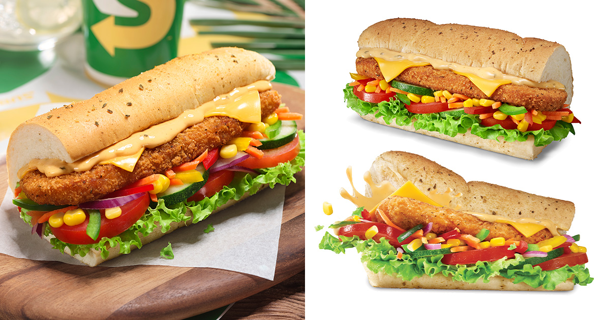 Subway S'pore launches new Seafood Patty Sub from Sep 29, has a medley of squid, fish & shrimp in it