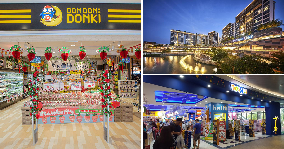 """Don Don Donki to open in Punggol Waterway Point soon, set to take over former Toys""""R""""Us store"""