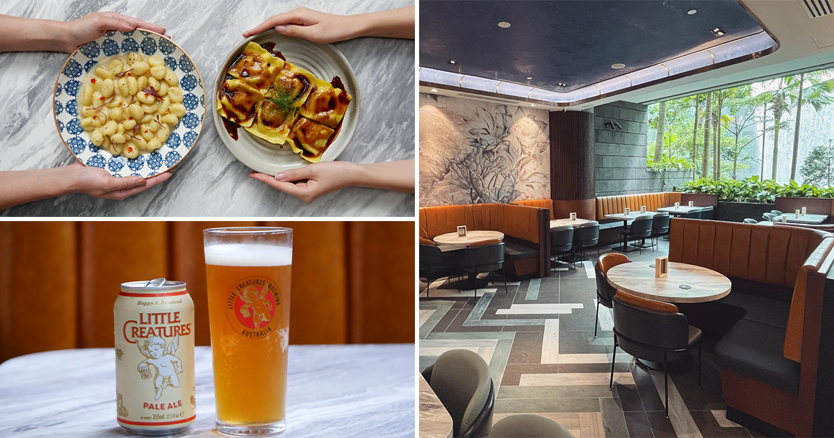 Newly-opened Woodfired Restaurant in Jewel Changi Airport has 1-FOR-1 Pasta Dishes & $3 Little Creatures Beer
