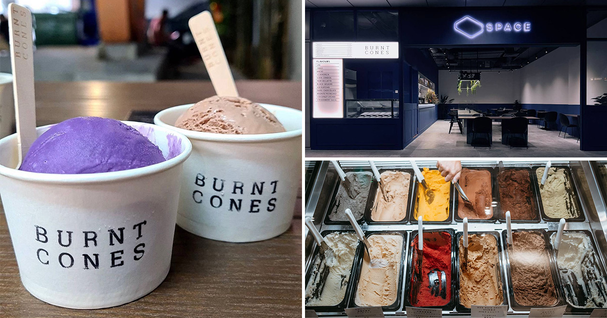 Burnt Cones opens new outlet at The Sail Marina Bay, offers FREE Scoop for gelato lovers on Oct 22