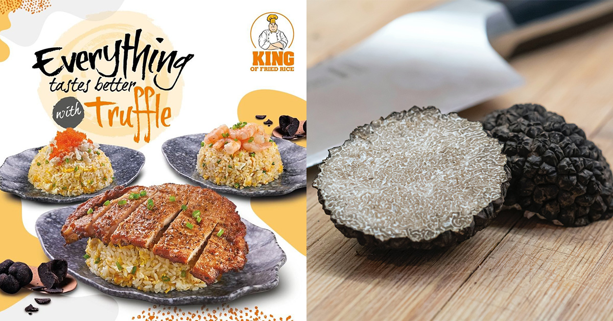 King of Fried Rice launches Truffle Fried Rice Series from $6.50, has Shrimp, Pork Cutlet & Crabmeat options