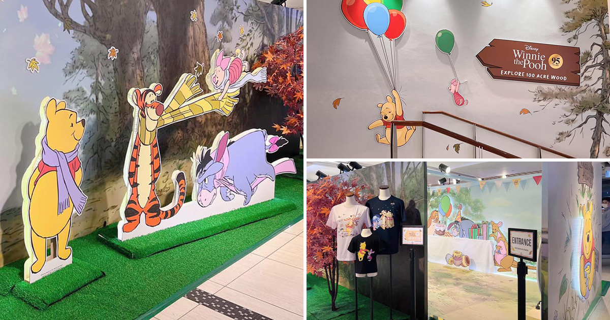 Winnie the Pooh & Friends Pop-up Store in Suntec City has photo booths, exclusive merch & more