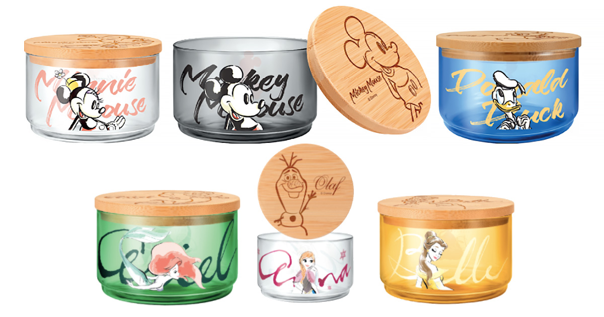 7-Eleven S'pore launching Disney-themed Glass Containers from Oct 27, has 8 designs to collect
