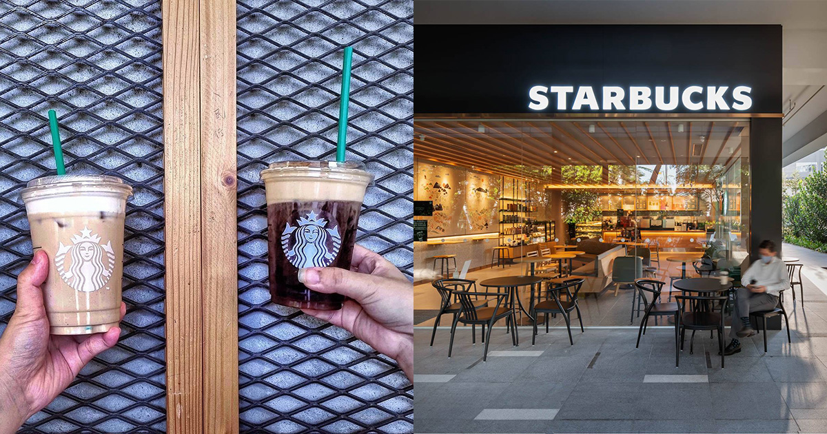 Starbucks 1-for-1 treat is back all-day from Oct 25 – 28, has 3 Frappuccino drinks to choose from